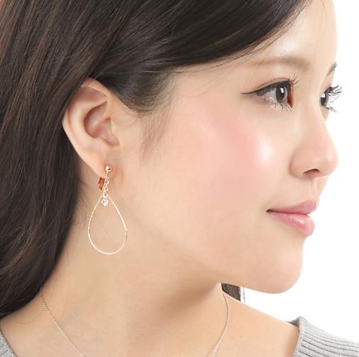公司 x Swarovski 耳環 (L)