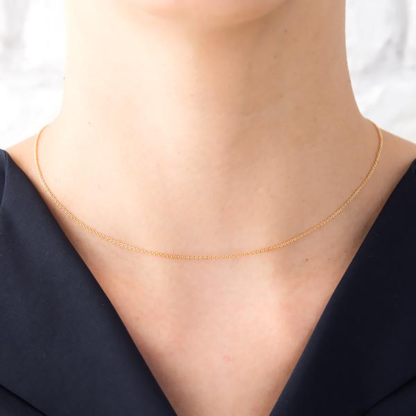 product gold necklace black maria camille jewelry gallery normal lyst metallic in