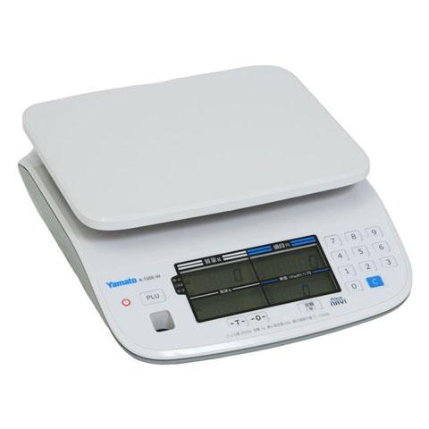 防水型デジタル料金はかり Price NAVI 6kg R-100E-W-6 検定品 大和製衡