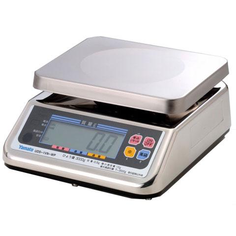 防水型デジタル上皿はかり 6kg UDS-1VN-WP-6 無検定品 大和製衡