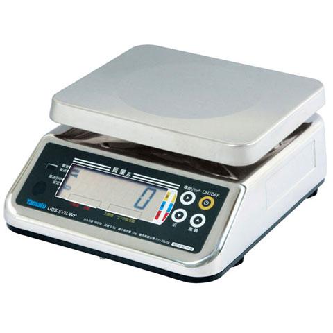 防水型デジタル上皿はかり 6kg UDS-5VN-WP-6 無検定品 大和製衡
