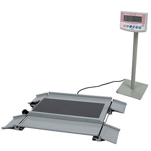 車いす用デジタル体重計 150kg DP-7101PW-K 検定品 大和製衡