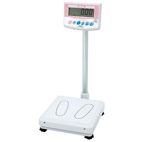 業務用デジタル体重計 150kg DP-7101PW ポールタイプ 検定品 大和製衡
