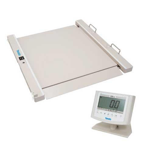 バリアフリー体重計 SMOOZER 200kg DP-7500PW-S 検定品 大和製衡