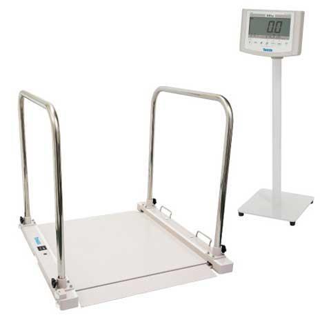 バリアフリー体重計 SMOOZER 200kg DP-7500PW-T 検定品 大和製衡