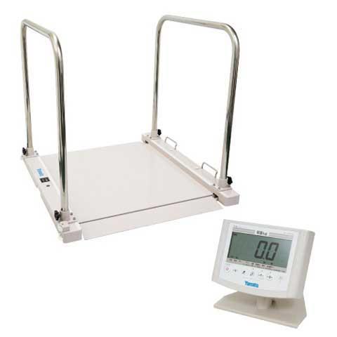 バリアフリー体重計 SMOOZER 200kg DP-7500PW-TS 検定品 大和製衡