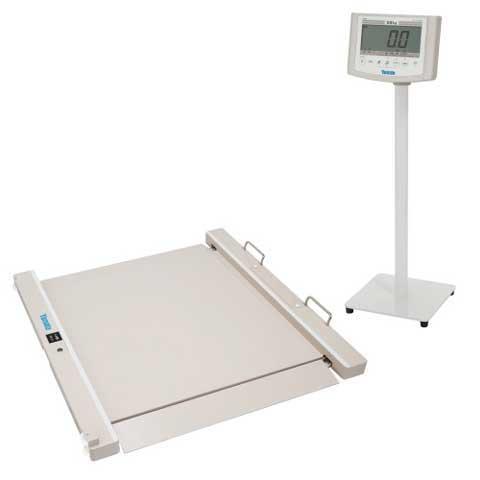 バリアフリー体重計 SMOOZER 200kg DP-7500PW 検定品 大和製衡