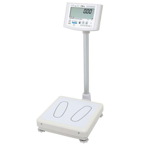 業務用高精度デジタル体重計 120kg/200kg DP-7700PW-F ポールタイプ 検定品 大和製衡