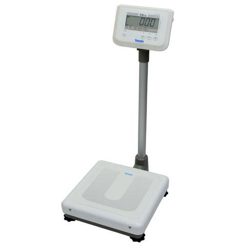 業務用デジタル体重計 150kg DP-7900PW ポールタイプ 検定品 大和製衡