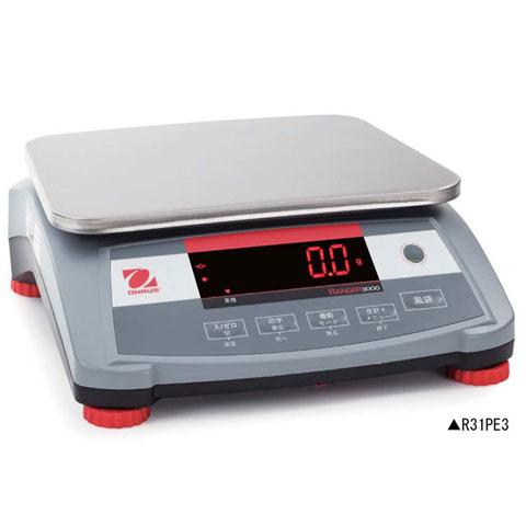 デジタル卓上型はかり 3kg レンジャー3000シリーズ R31PE3 無検定品 オーハウス