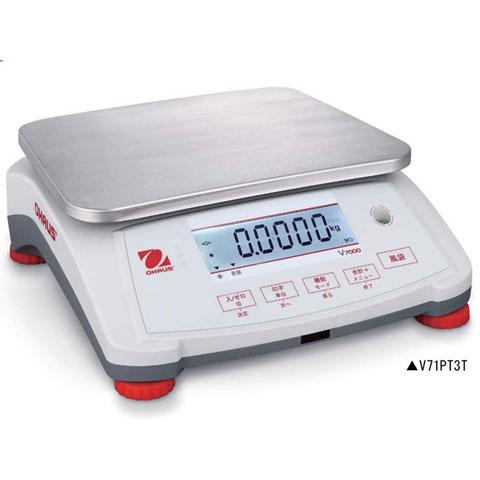 高精度デジタル上皿はかり 1.5kg V7000シリーズ V71P1502T 無検定品 オーハウス