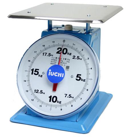 大型(AWA)上皿はかり 20kg AWA20 検定品 井内衡器