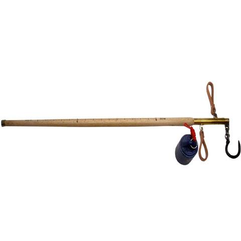 木製棒はかり 25kg 無検定品