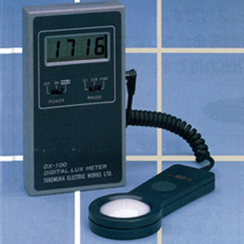 デジタル照度計 DX-100 竹村電機