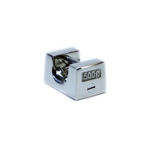 非磁性ステンレス製枕型分銅 F2級(1級) 500g