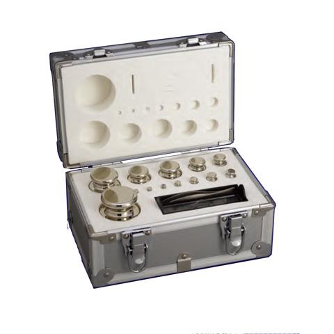 OIML型円筒分銅 M1級(2級) 200 gセット