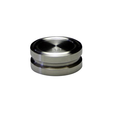 ステンレス製円盤分銅 F1級(特級) 200g ケース付