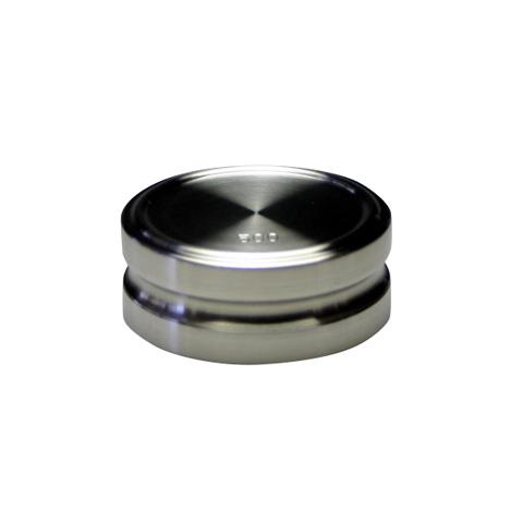 はかりの点検 校正 調整 検査に最適です ステンレス製円盤分銅です 新作からSALEアイテム等お得な商品 満載 プラスチックケース�です 40%OFFの激安セール F1級 特級 ケース� 500g ステンレス製円盤分銅