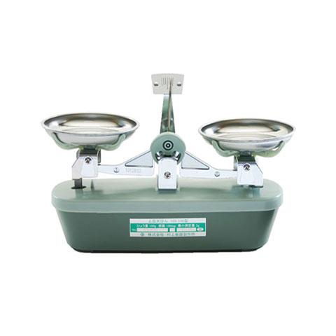 上皿天秤(天びん)分銅なし 100g MS-100 検定品 村上衡器