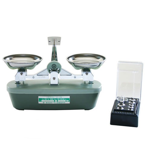 上皿天秤(天びん) 50g MS-50 検定品 村上衡器