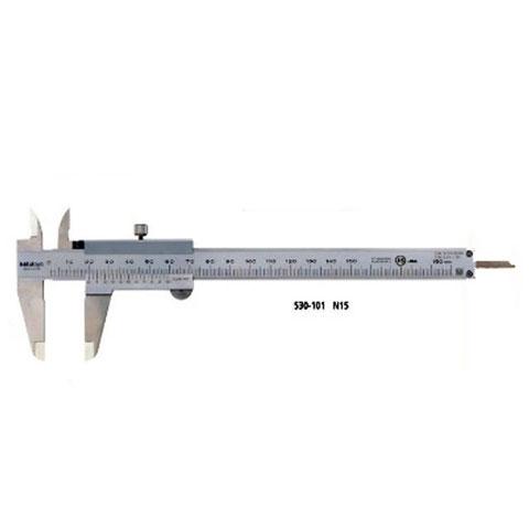 M型標準ノギス(内・外側測定面超硬合金チップ付き) 150mm N15WW ミツトヨ