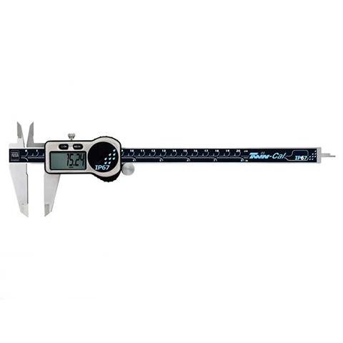 デジタルノギス 200mm TWIN-CAL IP67 TESA