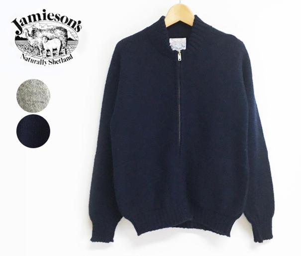 【SALE】【20%OFF】JAMIESON'S ジャミーソンズ ジップカーディガン