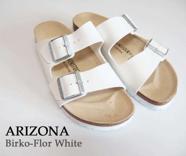 BIRKENSTOCK ビルケンシュトック  ARIZONA アリゾナ 051733(ホワイト)