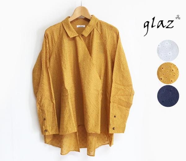 glaz グラズ カットレース ツイストシャツ  (gz-91220)