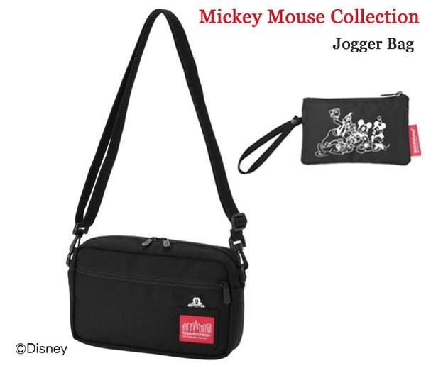 Manhattan Portage マンハッタンポーテージ Mickey Mouse Collection Jogger Bag ジョガーバッグ ショルダーバッグ MP1404LMIC19