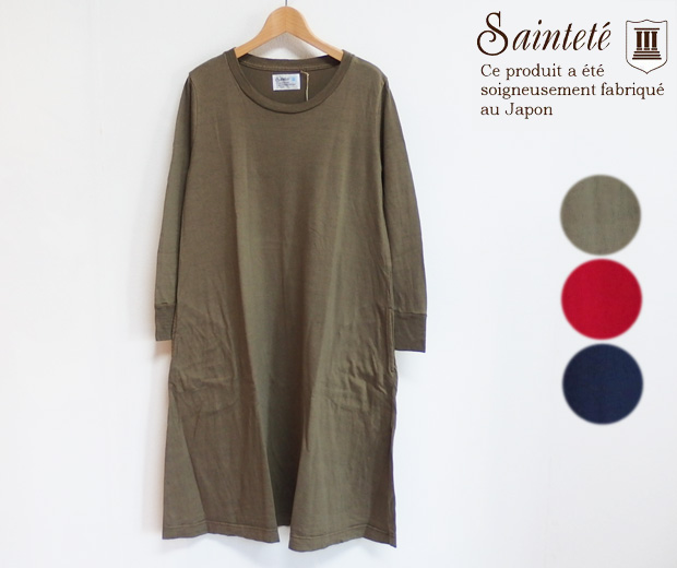 【40%OFF】Saintete サンテテ ソフトローリング スキンウール ワンピース(WT005)