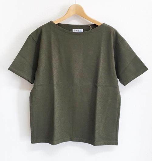 Saintete サンテテ 度詰め天竺 半袖TシャツDT101BoWrCdxe