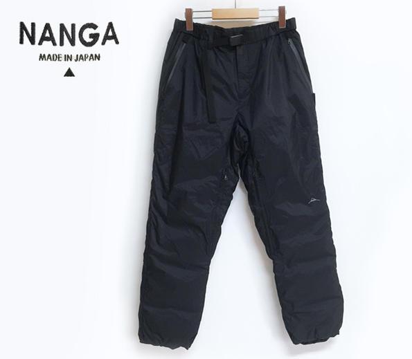 NANGA ナンガ AURORA DOWN PANTS オーロラ ダウンパンツ