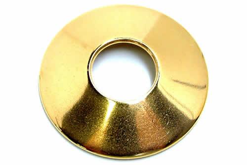 [乳首 ニップル シールド] ゴールドリングニップルディスク 金色 金メッキ シンプル プレーン ボディピアス サージカルステンレス316L メンズ レディース 乳輪を覆い隠す乳首用ディスク ボディーピアス ※ ストレートバーベルやキャプティブビーズリングは別売りです
