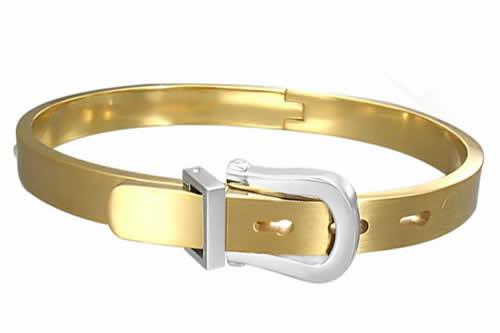 ゴールドジュエルベルト ステンレス バングル アームレット 腕輪 サージカルステンレス316L メンズ レディース 腕輪 手首 アクセサリー 二の腕 フリーサイズ 腕 ブレスレット 固定型 リング型 楕円形 プレゼント ギフト 金色 バックル 金メッキ 結婚式 パーティ リング