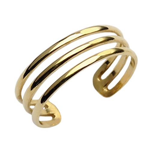 10金オリーブゴールドトゥリング K10 本物の金の指輪 ゴールドリング 10金リング 足の指輪 トーリング イエローゴールド フォークリング ピンキーリング フリーサイズ レディース メンズ チップリング ミディリング ファランジリング サイズが小さい 小指 関節 指先 小さめ