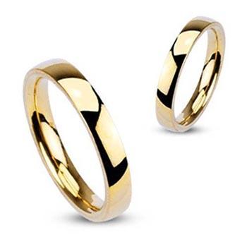 結婚指輪 金の指輪 マリッジリング 男性 女性 彼氏 彼女 ゴールドステンレスリング:3.0mm PRB024 サイズ 10号 11号 シンプル 指輪 (訳ありセール 格安) メンズ レディース サージカルステンレス316L ペアリング 誕生日 現金特価 金メッキ 細身 細い 記念日 スリム 結婚 ファランジリング 婚約 エンゲージ 3mm 細め ピンキーリング