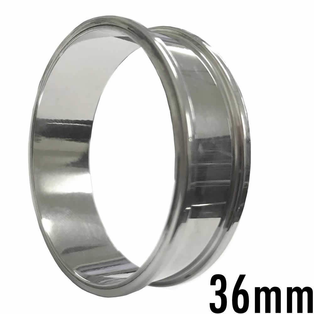 36mm スタンダード 高品質 ギガサイズメガ トンネル 36 0mm 36ミリ 軸長 9mm 定番 ボディピアス ステンレス製 大きい ビッグ ラージ でっかい メンズ レディース 低アレルギー ネジ式 耳 ホールトゥピアス 通す ボディーピアス ネジタイプ スクリュー 埋め込み型 土管型rstdChQ