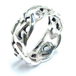 スリムラティスシルバーリング サイズ/15号/21号 綺麗 シンプル プレーン 男性 女性 本物の銀 指輪 スターリングシルバー 親指 中指 人差し指 薬指 小指 ピンキーリング ペアリング 高級 プレゼント ギフト 結婚式 記念日 マリッジリング メンズ レディース