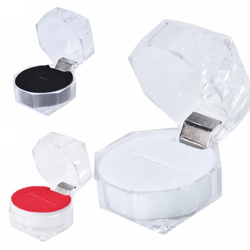 3色から選べるリングボックス 使い勝手の良い 人気ブレゼント! プロポーズ お返し 告白 リングギフトボックス ブラック レッド ホワイト 白色 赤色 黒色 指輪 クリア 透明 結婚指輪 小さい 宝石箱 店舗用 エンゲージリング シューケース 業務用 コレクションボックス プレゼント スモール リングボックス 飾る ラッピング 激安 ディスプレイ 収納