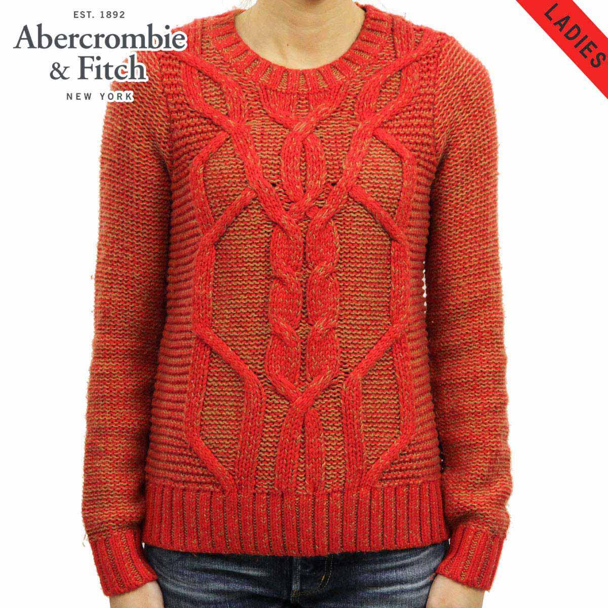 アバクロ Abercrombie&Fitch 正規品 レディース セーター CABLE KNIT SWEATER 150-490-0800-500 D00S20
