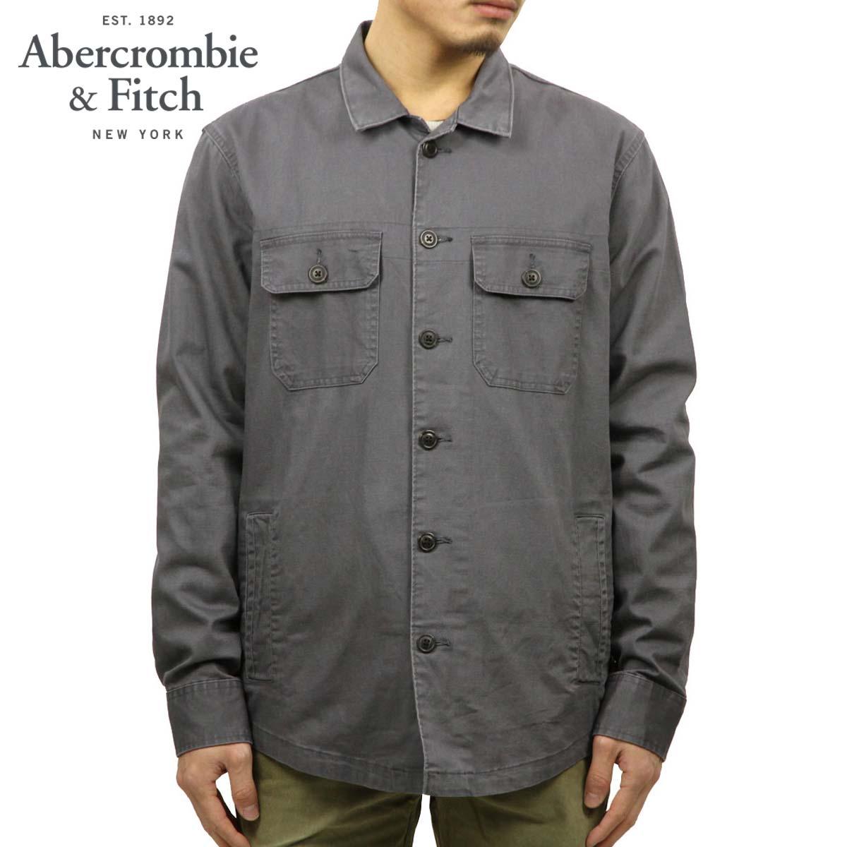 アバクロ Abercrombie&Fitch 正規品 メンズ シャツジャケット MILITARY SHIRT JACKET 125-125-0473-122
