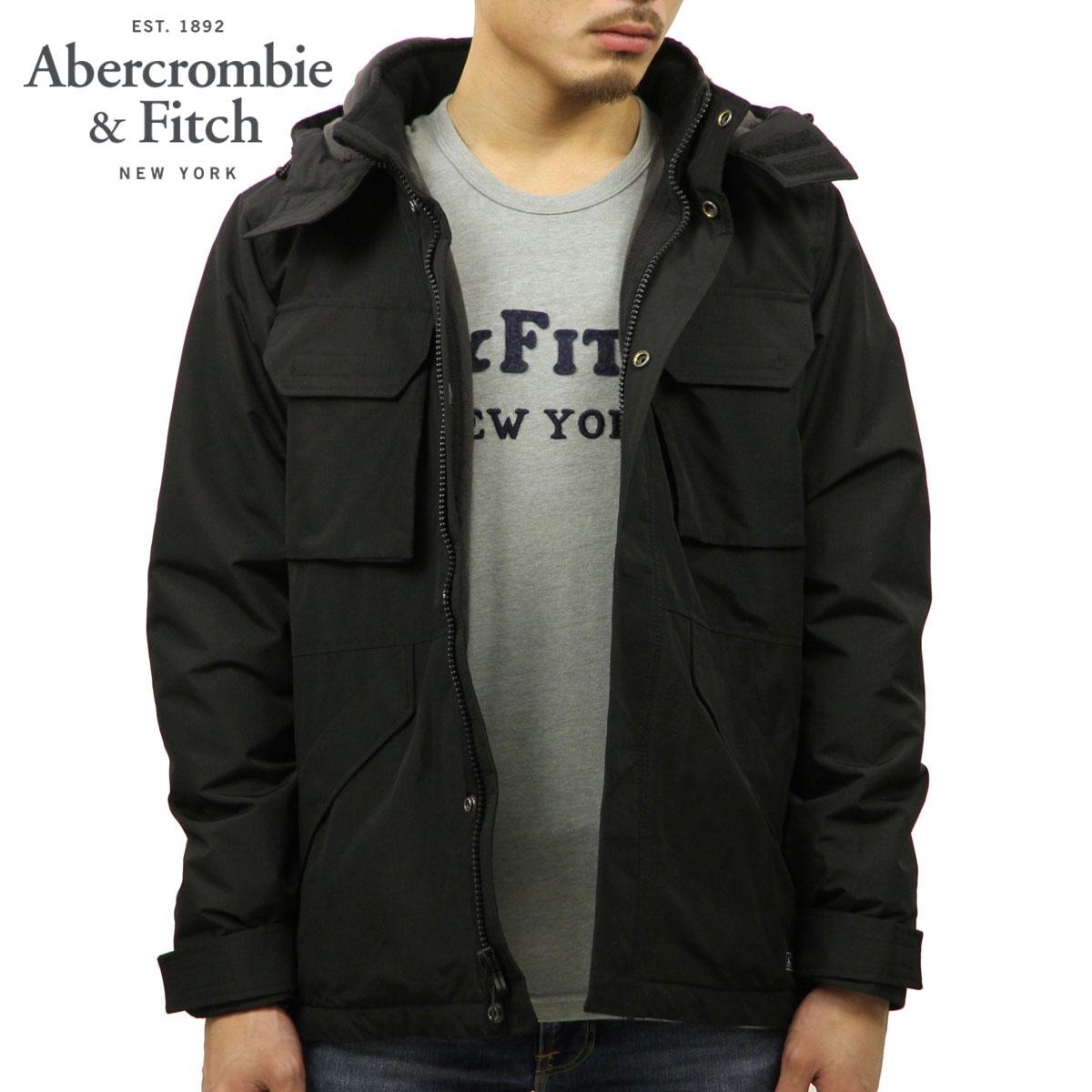 cc31e1729 ABBA black jacket men's regular article Abercrombie & Fitch nylon jacket  MIDWEIGHT TECHNICAL JACKET 132-328-1234-900