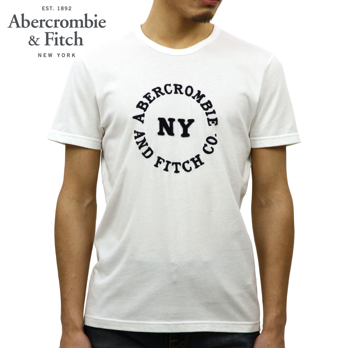 ba9c639d Categories. « All Categories · Men's Clothing · Tops · T-shirts & Tank Tops  · ABBA black Abercrombie & Fitch regular article men short sleeves ...