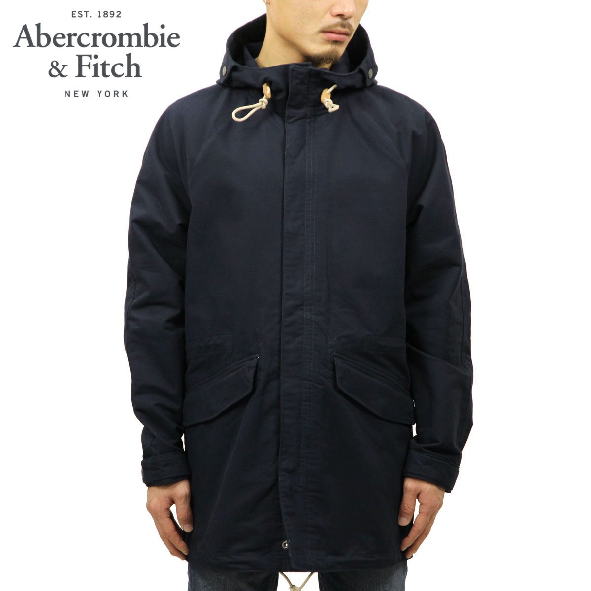 アバクロ Abercrombie&Fitch 正規品 メンズ モッズコート LIGHTWEIGHT PARKA 132-328-1250-200
