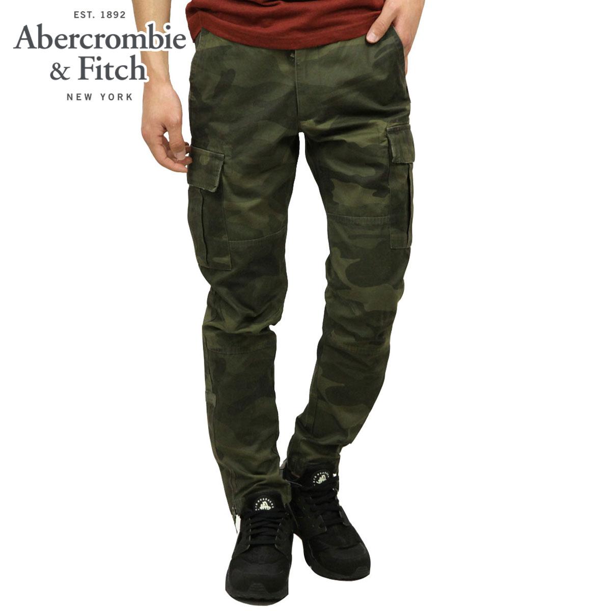 アバクロ Abercrombie&Fitch 正規品 メンズ スリムカーゴパンツ ATHLETIC SLIM CARGO PANTS 130-307-0642-378