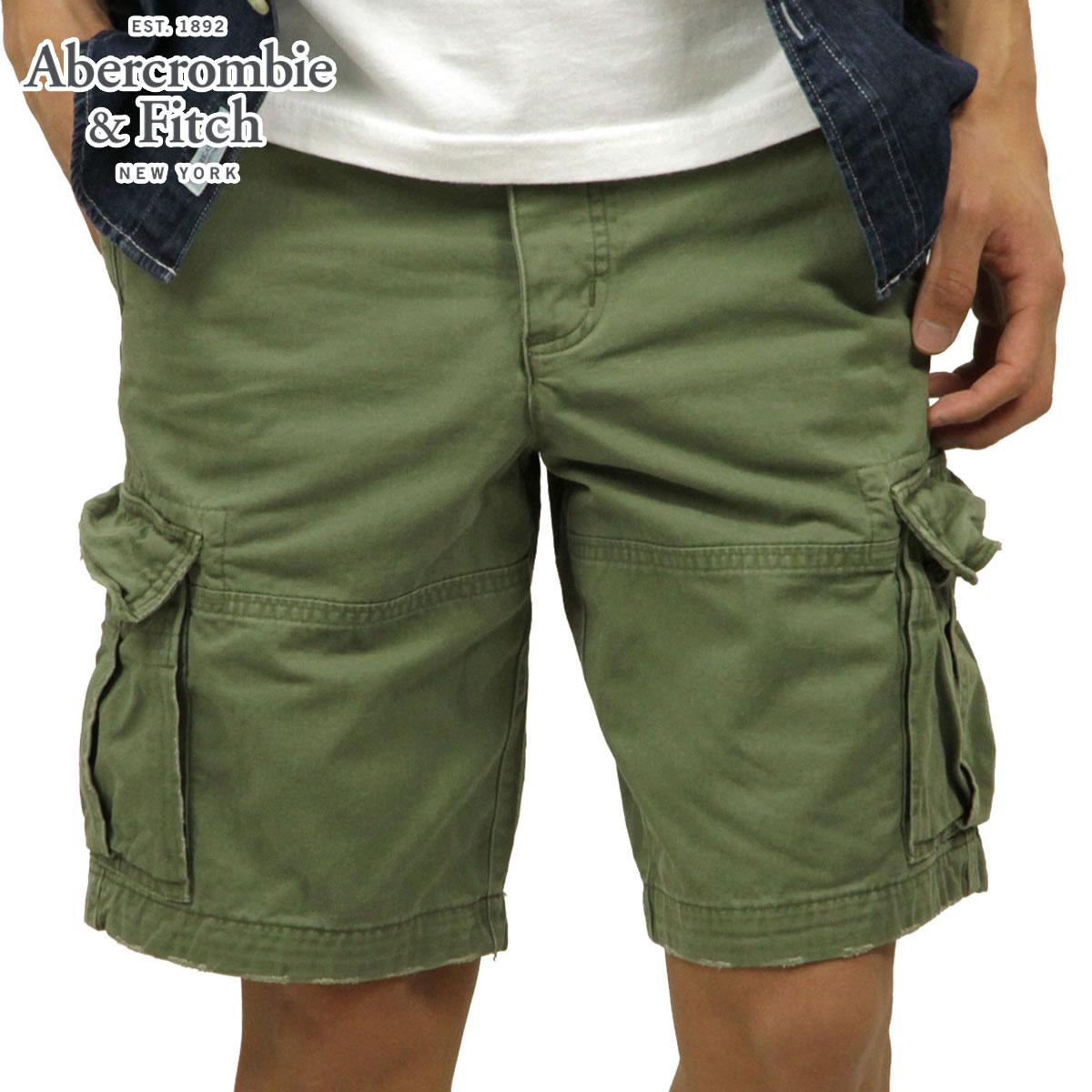 57b78a60a8 ABBA black Abercrombie & Fitch regular article men cargo half underwear CARGO  SHORTS 128- ...