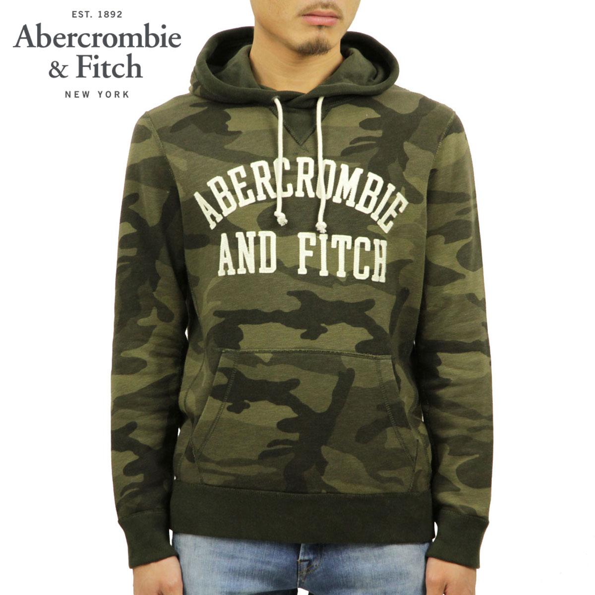 アバクロ Abercrombie&Fitch 正規品 メンズ プルオーバーパーカー APPLIQUE LOGO HOODIE 122-243-0018-336