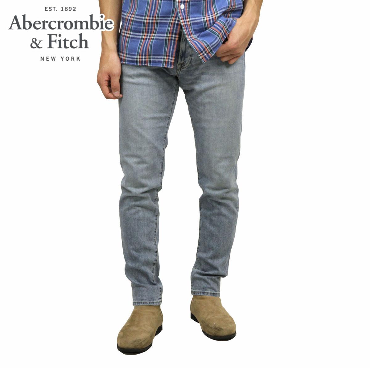 アバクロ Abercrombie&Fitch 正規品 メンズ スキニージーンズ ATHLETIC SKINNY JEANS 131-318-1278-278