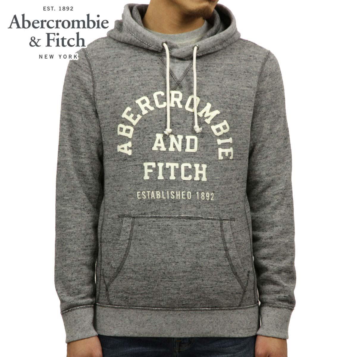アバクロ Abercrombie&Fitch 正規品 メンズ ロゴ プルオーバーパーカー GRAPHIC LOGO HOODIE 122-243-0068-122